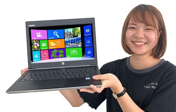 ICTマネジメント科限定!新品パソコンを無料で貸与します!