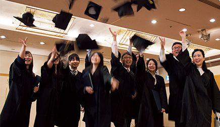大卒と同等の称号「高度専門士」が付与されます。
