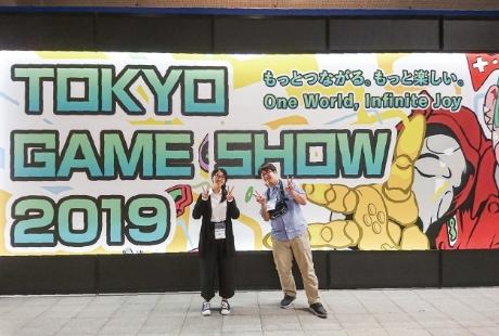 学科の特徴 POINT3 日本国内最大ゲームショウ TOKYO GAME SHOWに出展