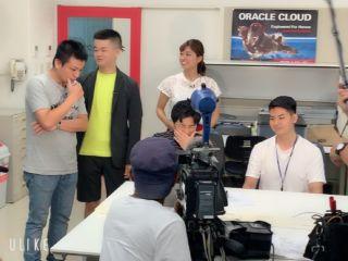 沖縄テレビでkbcの学校紹介!!